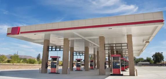 加油机厂家分享一些加油站建设防火防爆的要求!